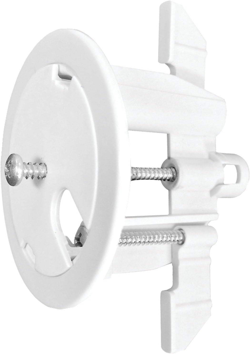 White MIDLITE R1SPSC-W SpeedPort Sc 2 Universal Cable Pass Through Fastening /& Anchor System