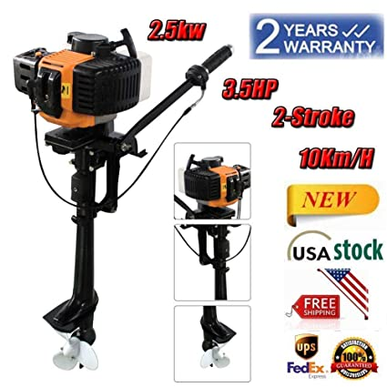 Amazon com : Feiuruhf Outboard Motors, 3 5HP 2 Stroke