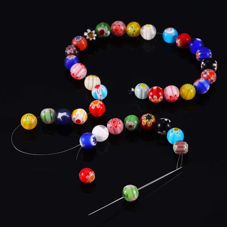 BENECREAT 200m 0.16mm Filo di Nylon Filo Trasparente Perlina Filo Invisibile per Ornamenti Pendenti e Realizzazione di Collana Braccialetti Artigianato di Gioielli