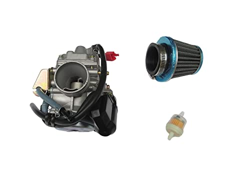 Amazon com: New Performance Carburetor W/Air Filter for DAZON RAIDER