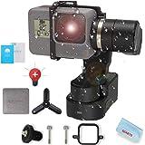 FeiyuTech Feiyu WG2Xウェアラブルジンバルスタビライザーミニ三脚スタンドと拡張ポール付、アクションカメラジンバル、GoPro Heroシリーズ7/6/5/4/セッションと互換性があります 同様のサイズのカメラ ー 並行輸入品&ーカー1年保証