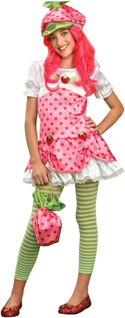 Amazon Com Strawberry Shortcake Costume Tween Medium Toys Games