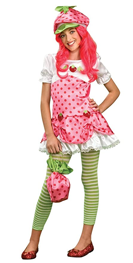 d67089b04 Amazon.com: Strawberry Shortcake Costume, Tween Medium: Toys & Games