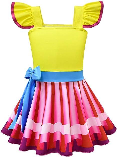 shihong-G Disfraz de Halloween Nancy Elegante para niñas pequeñas ...
