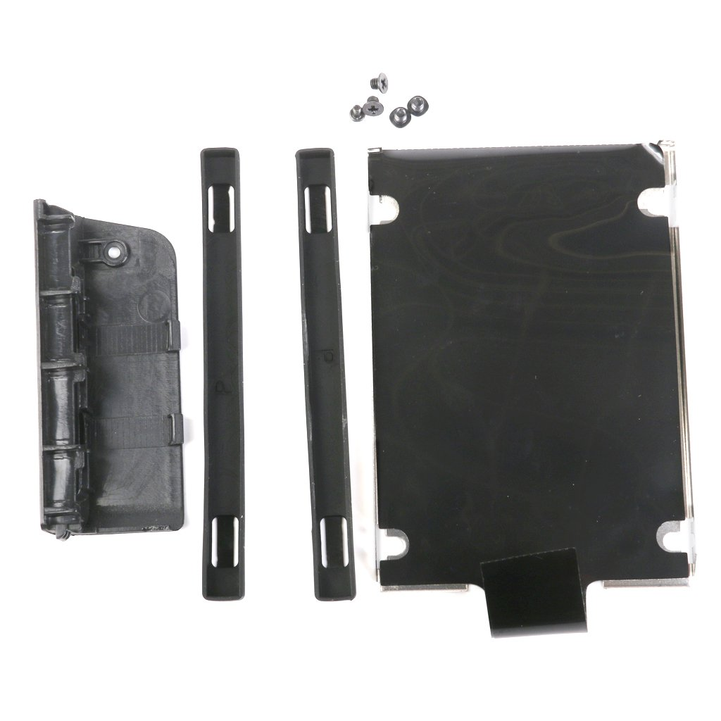 Flameer Black Hard Drive HDD Caddy Cover Lid With Screws For IBM Thinkpad T430 T430I