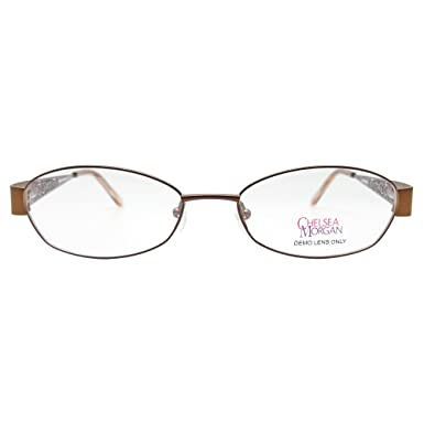 Amazon.com: Chelsea Morgan Women\'s CM 803 Eyeglasses Prescription ...