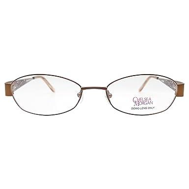 Amazon.com: Chelsea Morgan Women\'s CM 803 Eyeglasses Prescription ...