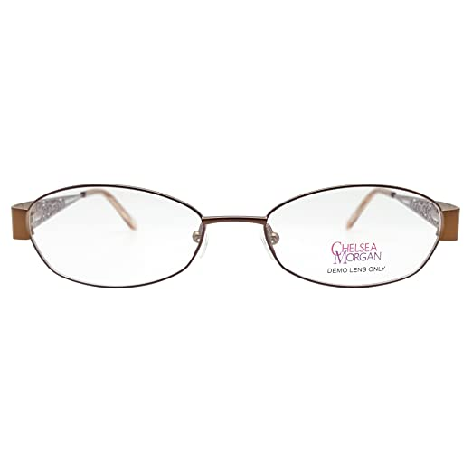 1769b30c25e Amazon.com  Chelsea Morgan Women s CM 803 Eyeglasses Prescription ...