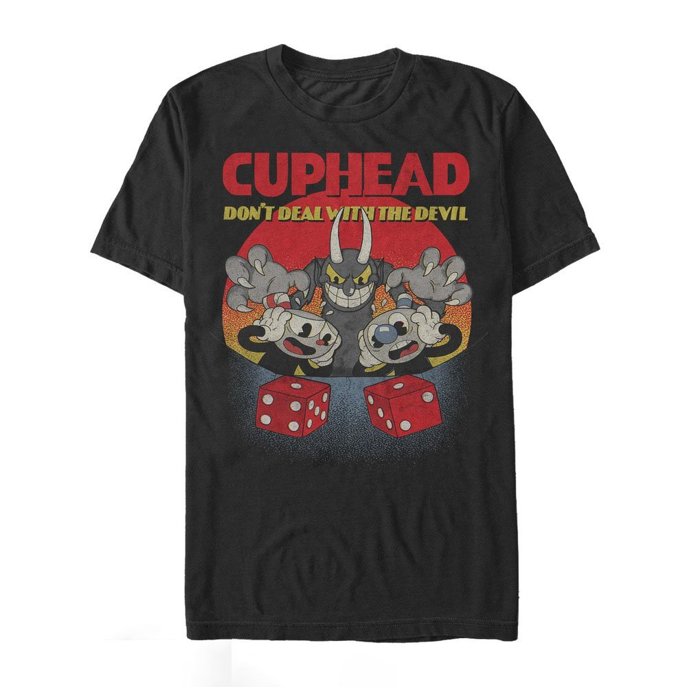 Cuphead S Dont Deal Snake Eyes Tshirt