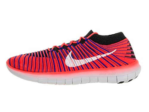 NIKE Men s Free RN Motion Flyknit Running Shoes Bright Crimson 834584-600 11.5