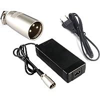 Chargeur de batterie 36V 2A Sortie 42V 2A Chargeur Entrée 100-240 VAC Lithium Li-ion Chargeur Li-poly pour 10Series 36V Vélo électrique
