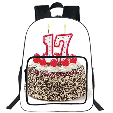 Amazon IPrint 19 Large Casual Backpack17th Birthday