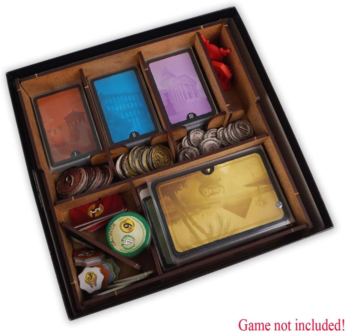 docsmagic.de Organizer Insert for 7 Wonders Duel Box - Encarte: Amazon.es: Juguetes y juegos