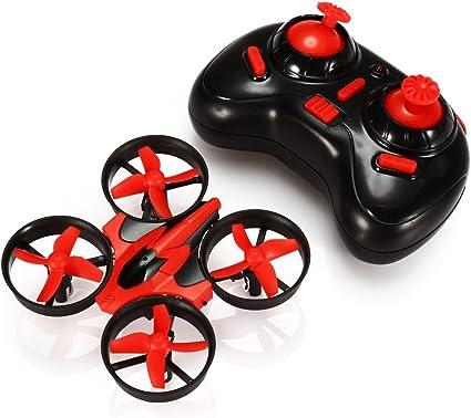 Headless Mode One Key Return E010 2.4GHz 6-Axis Gyro Remote Control Nano Drone for Kids Adults Beginners EACHINE Mini UFO Quadcopter Drone 3D Flip Green