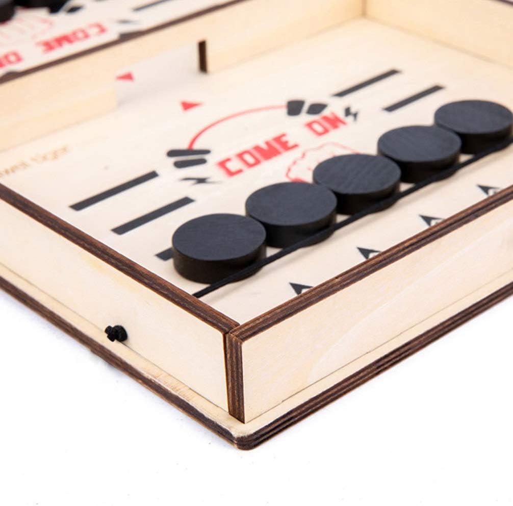 TOYANDONA Juego de Hockey de Mesa Juegos de Tirachinas Mesa de Juguete Batalla de Escritorio 2 en 1 Juegos de Mesa de Hielo Juguetes Juegos Caseros Interactivos Juguetes: Amazon.es: Juguetes y juegos