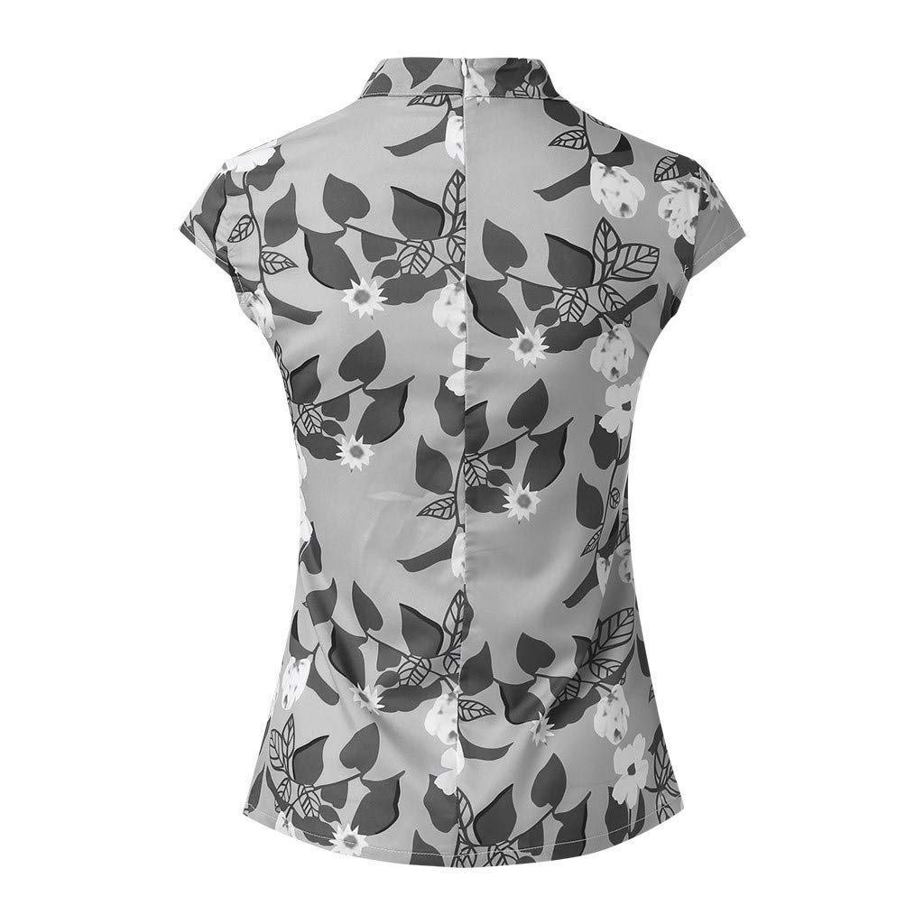 MOSERIAN Womens T-Shirts Fashion Printing Cap Sleeve Tops Summer Casual Shirt T-Shirts at Amazon Womens Clothing store: