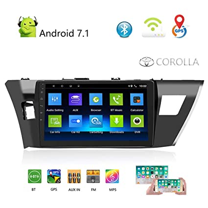 Amazon com: Car Stereo Bluetooth Double Din Android Car