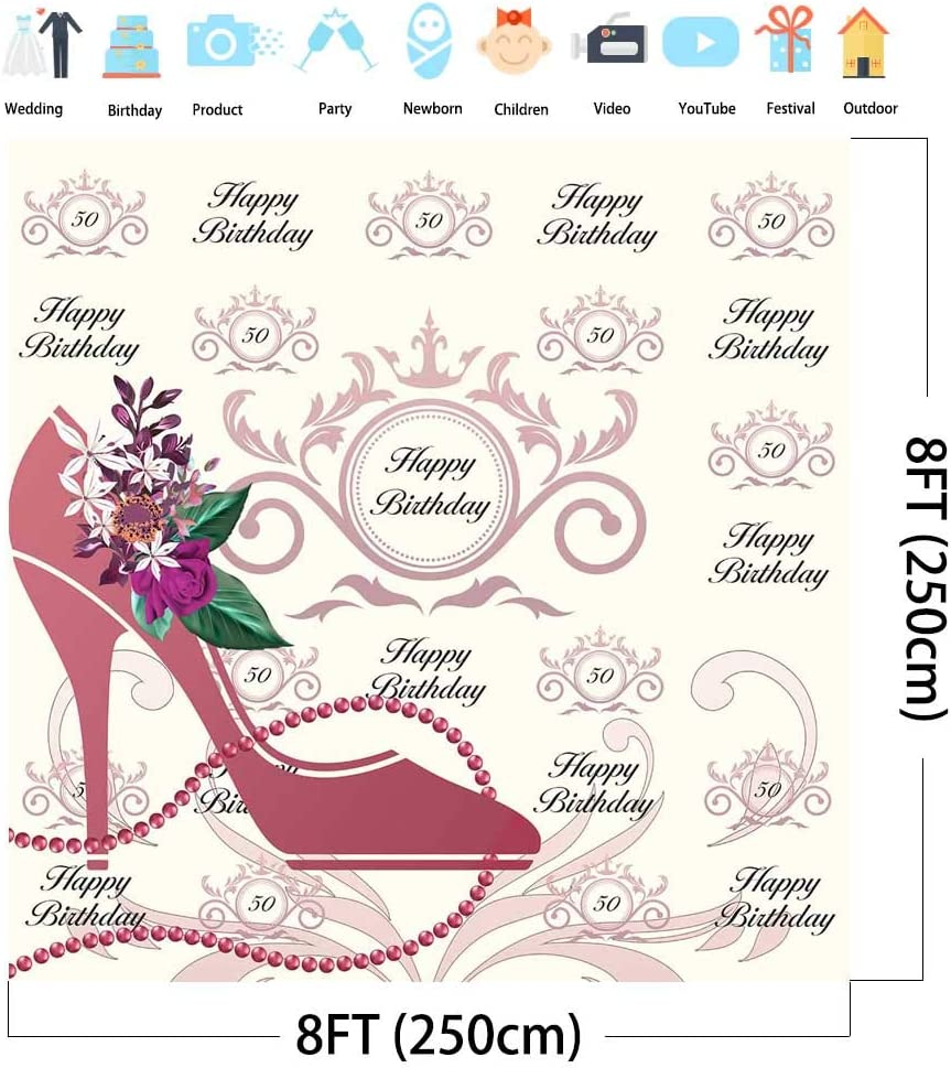 40th 50th 60th or any age Personalised Birthday Invitations 4216