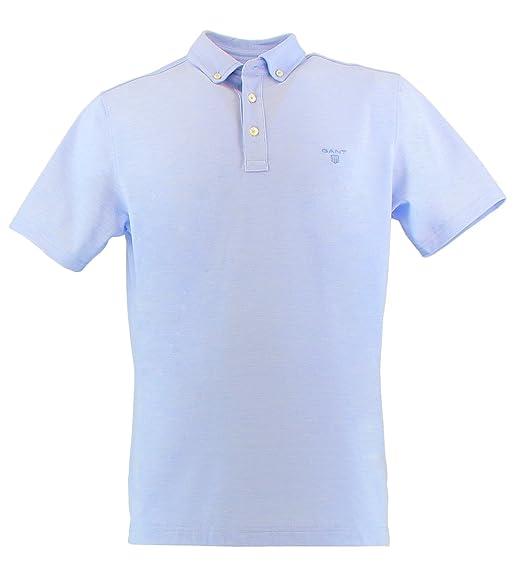 Gant 212117411 - Polo para Hombre Azul Claro X-Large: Amazon.es ...