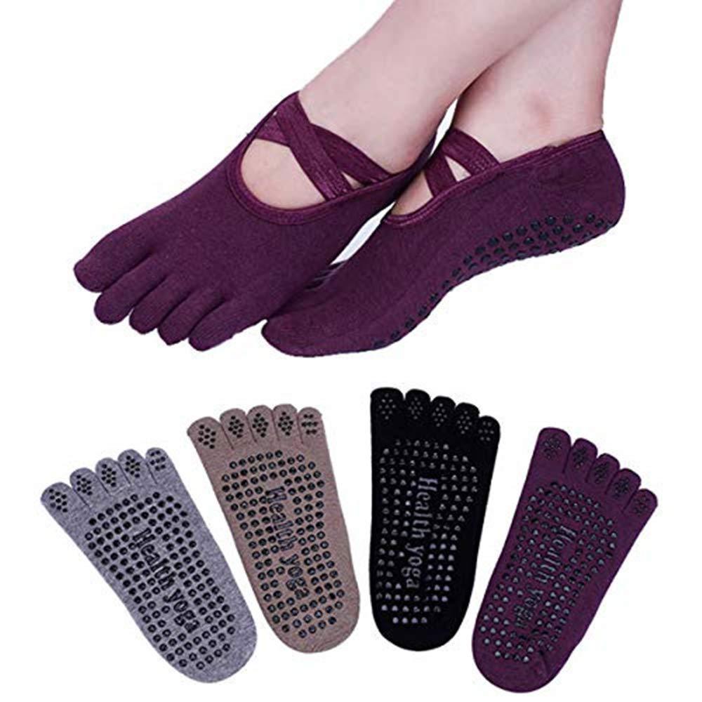 Barra Fitness Calcet/ín para Ballet Danza Win.Deeper 2 Pares Hombre y Mujer Yoga Colchoneta Deporte Accesorios Yoga
