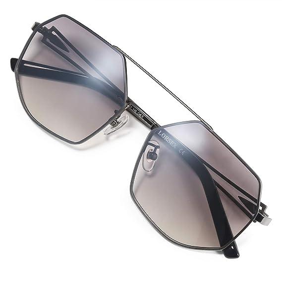 LORSEX lunettes de soleil, lunettes de soleil pour femmes hommes Visor  Lunettes de soleil UV 5a41f8179086