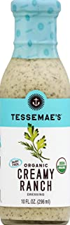 product image for Tessemae's Organic Creamy Ranch Dressing, 10 oz