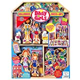T.S. Shure Daisy Girls Wooden Dollhouse and Magnetic Dress-Up Set