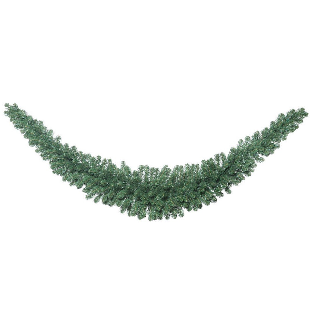 Vickerman C164920 Fir Swag Garland with 286 PVC Tips, 9', Oregon