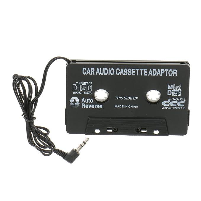 3,5mm Cinta de Cassette Adaptador Auxiliar Audio de Coche Para IPod Mp3 CD Teléfono: Amazon.es: Electrónica