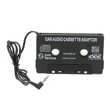 3,5mm Cintas de Cassette Adaptador Auxiliar Audio de Coche Para IPod Mp3 CD Teléfono: Amazon.es: Electrónica