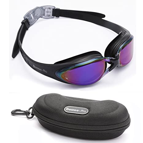9650d10a10 Swim goggles Anti-Fog Coated Tinted Lens With 100% UV Protection ...