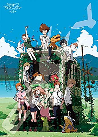 Ensky Digimon Adventure Tri - Beyond Time Double Sided Jigsaw Puzzle (500 Piece) (Digimon Puzzle)