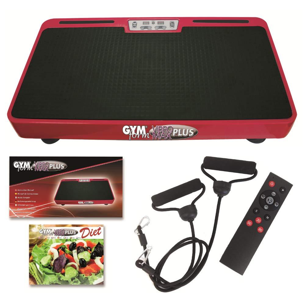 Gymform Vibromax Plus Vibrationsplatte Profi Shaper Set INDUSTEX.S.L