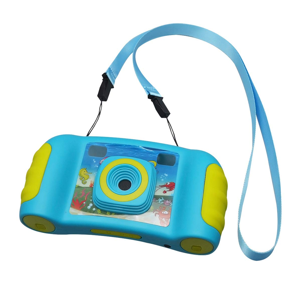 bouti1583 Digital Photo Video Cameras with Games 1.77'' LED Screen for Kids Toy by bouti1583 (Image #7)