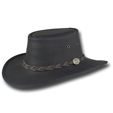 90d1c8e9226 Barmah Hats Bison   Buffalo Leather Hat - Limited Edition - 1085BL (Small