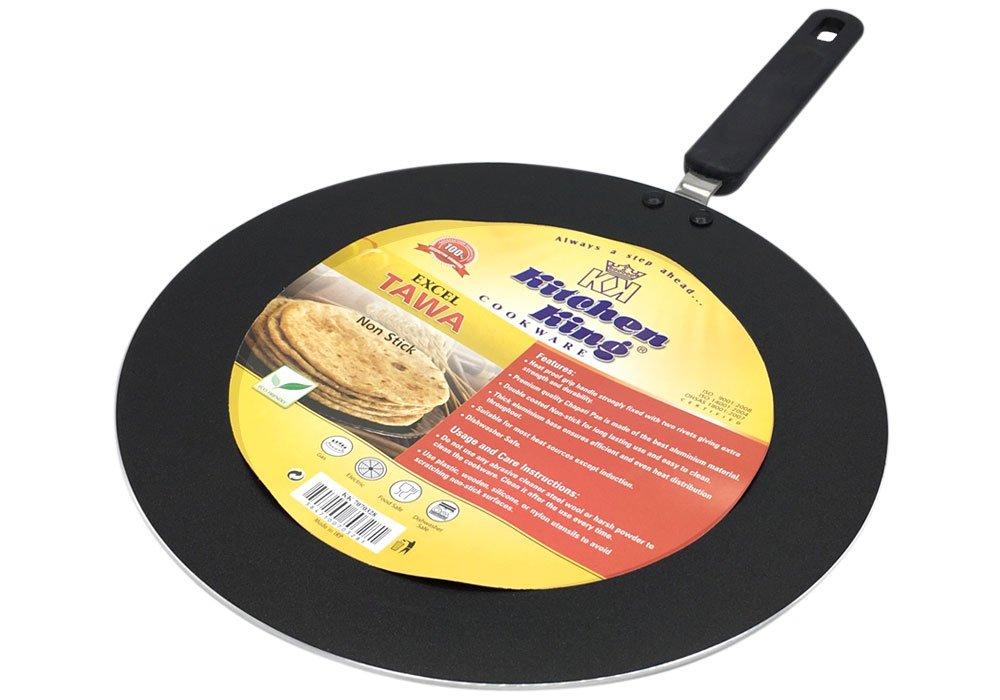 India Bazaar CONCAVE MS BLACK IRON TAWA WIRE HANDLE 10 PAN **FREE UK POST** HEAVY DUTY IRON CREPE PANCAKE CHAPATI ROTI PAN DOSA TAVA PAN CONCAVE TAVA