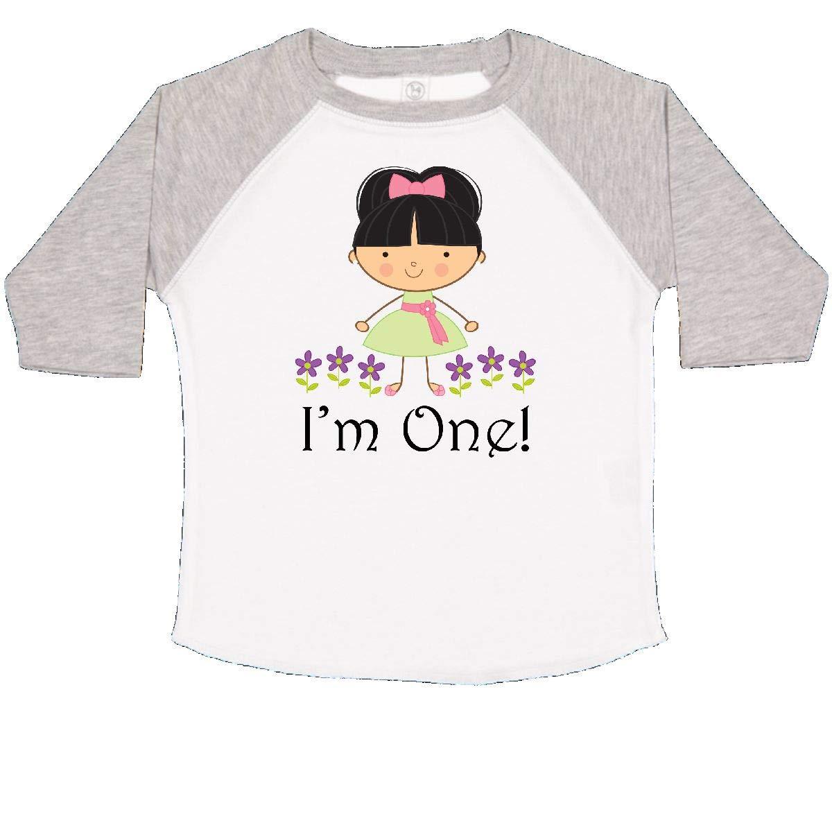 inktastic 1st Birthday Party Im 1 Girls Toddler T-Shirt
