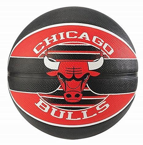 Spalding Team Chicago Bulls Balón de baloncesto, tamaño 5 + Balón ...