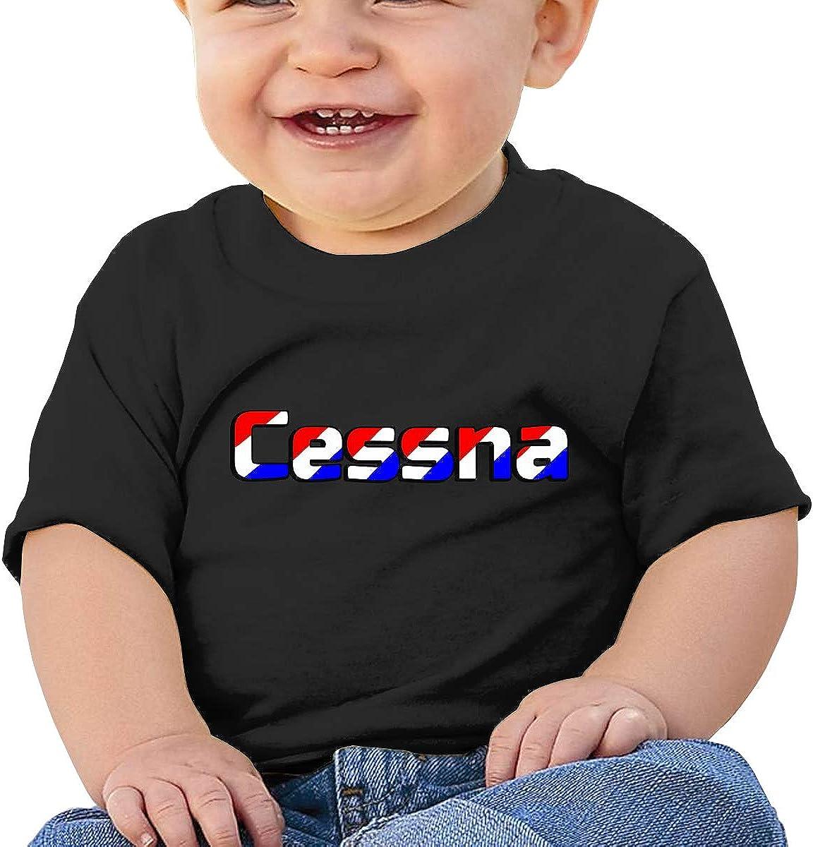 Kangtians Baby Cessna Short Sleeve Shirt Toddler Tee