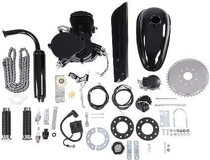 Kit de motor eléctrico para bicicleta, 80 cc, motor de 2 tiempos ...