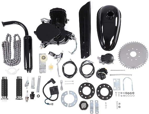 Kit de motor eléctrico para bicicleta, 80 cc, motor de 2 tiempos, pedales motorizados, motor de gasolina, kit de conversión para bicicleta: Amazon.es: Coche y moto