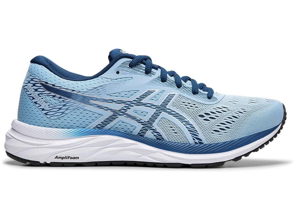 ASICS Women's Gel-Excite 6 Running Shoes, 5M, Heritage Blue/MAKO Blue
