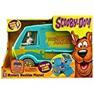 Scooby Doo Mystery Machine Playset [Includes Fred]: Toys & Games