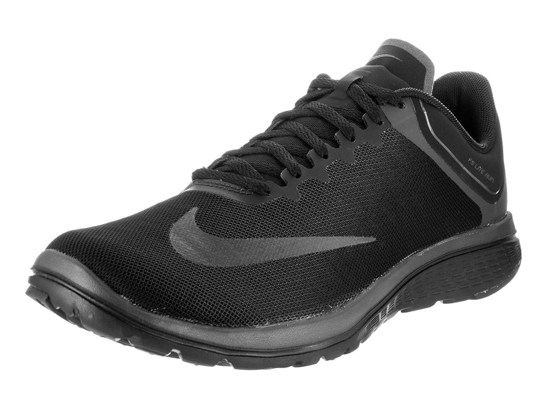 nike black sports shoes