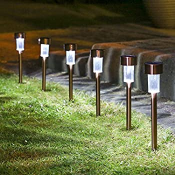 Awesome Sogrand 12pcs Pack,Solar Lights Outdoor,Stainless Steel,Solar Light,Landscape  Lighting,Solar Pathway Lights,for Lawn,Patio,Yard,Walkway,Driveway,Pathway  ...