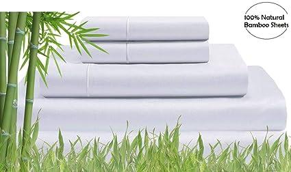 best sheets on amazon Amazon.com: 300 Thread Count   100% Bamboo Sheets   White Softest  best sheets on amazon