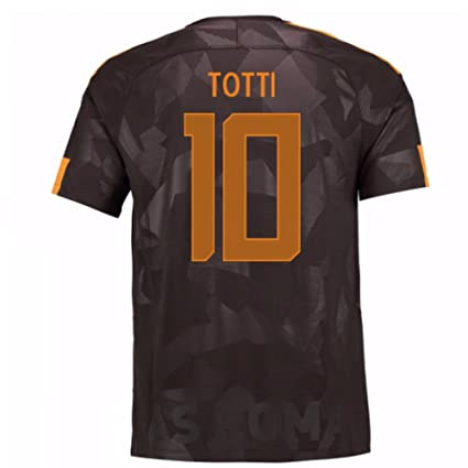Image Unavailable. Image not available for. Color  2017-18 Roma Third Shirt  (Totti 10) ... 20ab63078