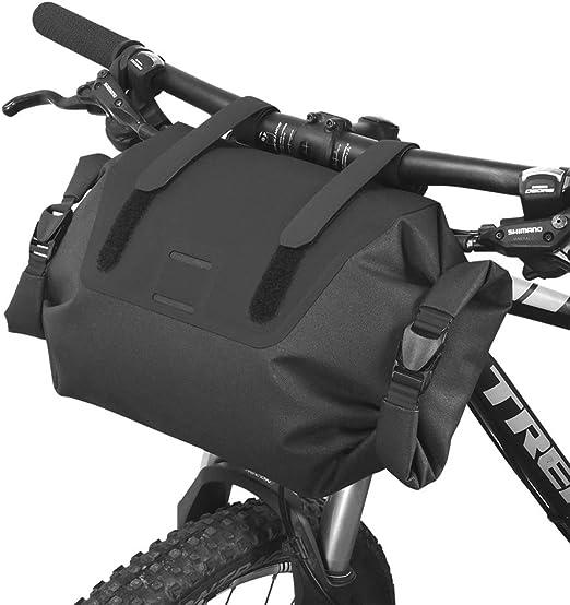 JZFUKSP Bolsa para Manillar de Bicicleta - 7 L Cesta de ...