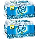 Nestlé Pure Life Bottled Purified Water, 16.9 oz. Bottles, 2 Cases (24 Bottles)