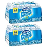 Nestle Pure Life Purified Water, 16.9 oz. Bottles, 2 Cases (24 Bottles)